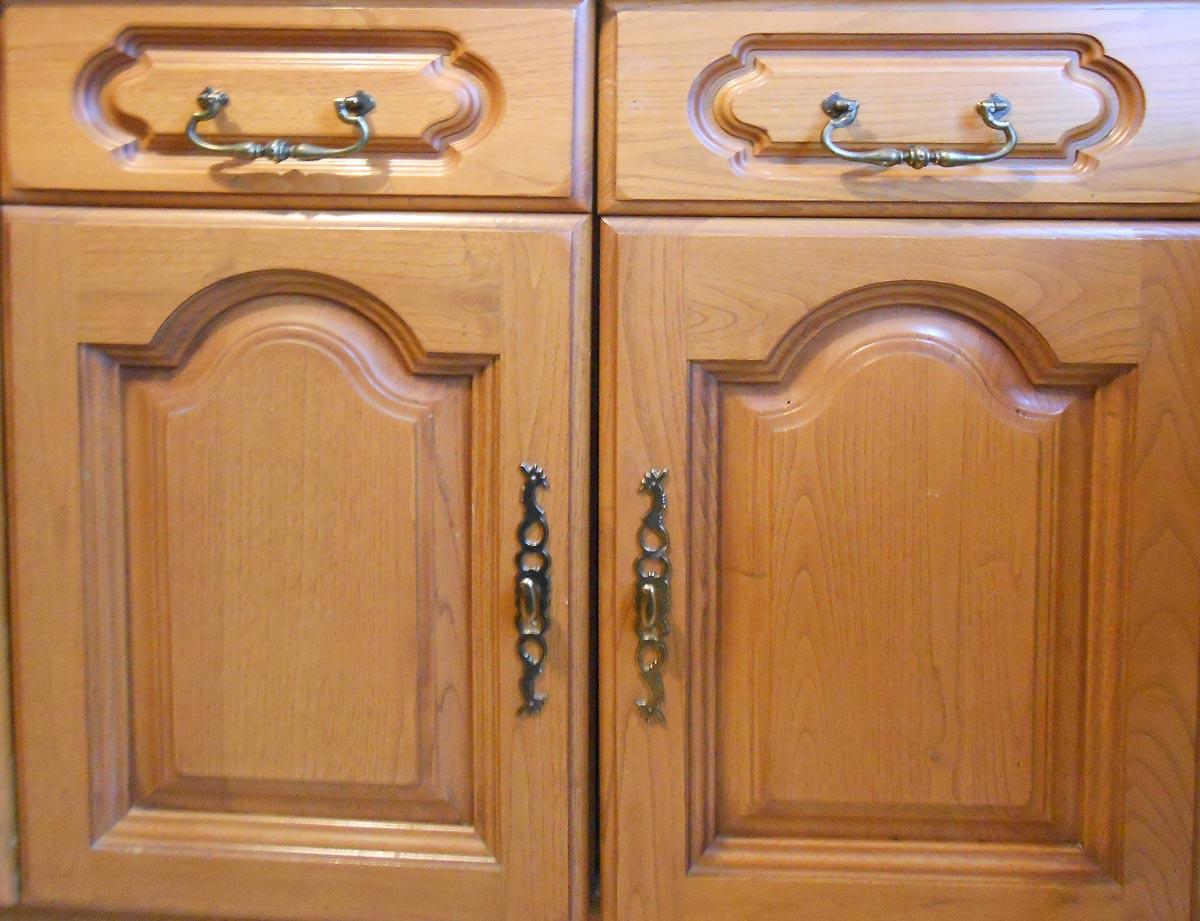 Meuble cuisine bois massif interesting porte meuble for Porte placard cuisine bois massif