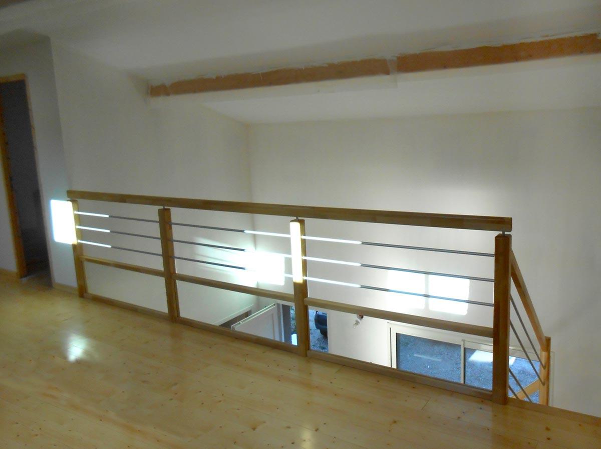 rambarde bois mezzanine fashion designs. Black Bedroom Furniture Sets. Home Design Ideas