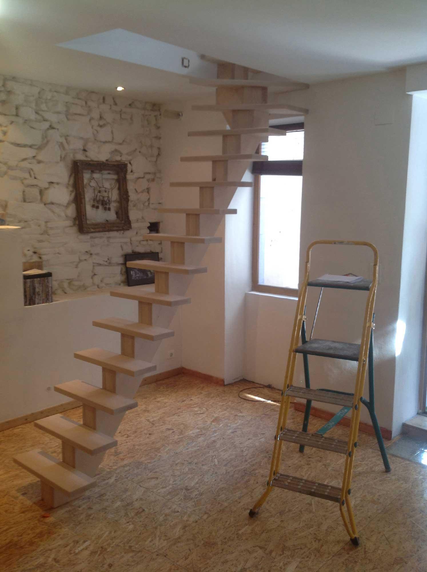 escalier mesure latest escalier crmaillre en plat with