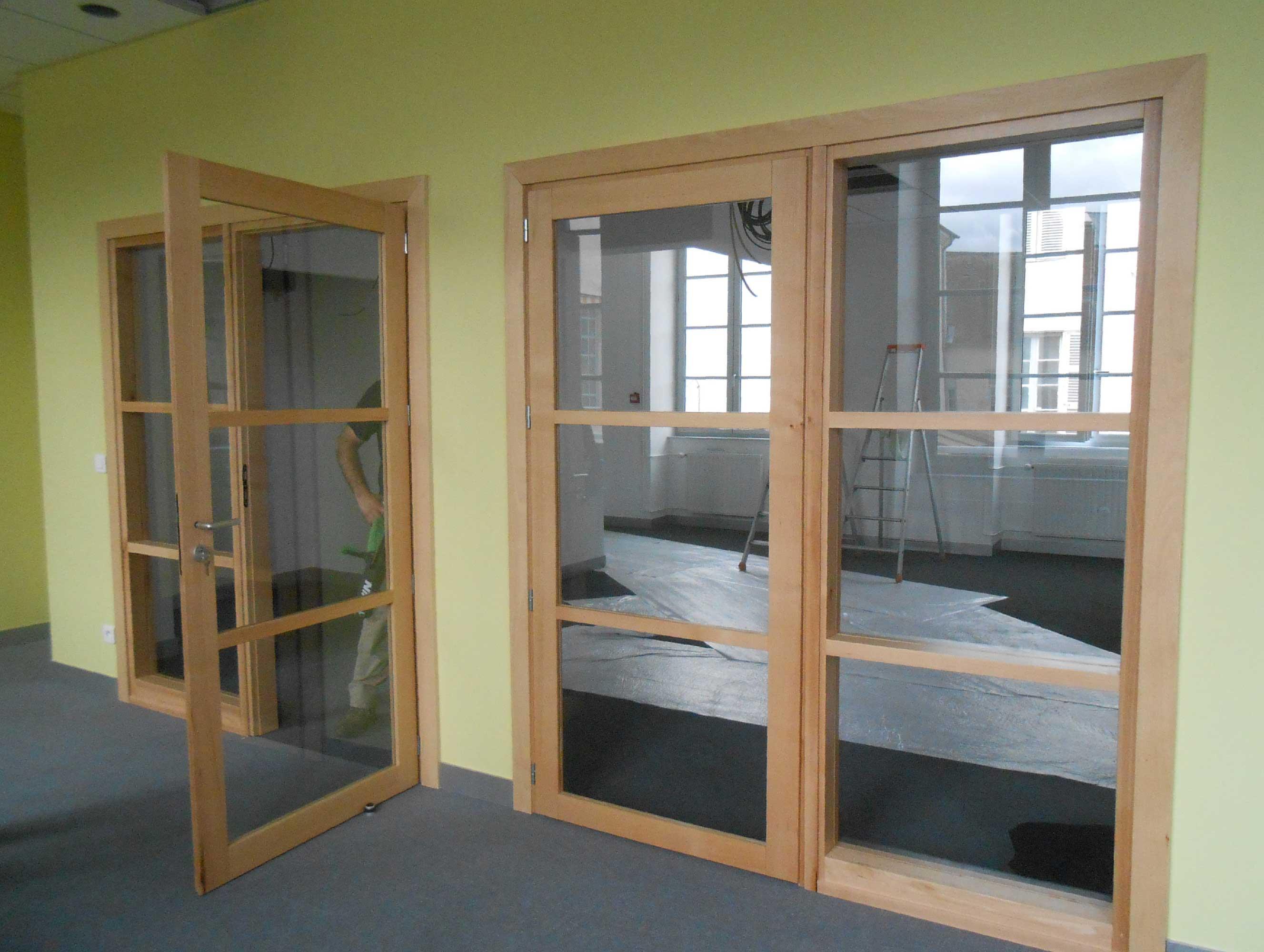 Menuiseries am nagements int rieur sur mesure - Portes d entree vitrees ...